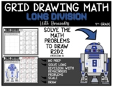 STAR WARS R2D2 Grid Drawing Math Puzzle LONG DIVISION WITH REMAINDERS (2)