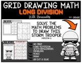 STAR WARS STORM TROOPER Grid Math Puzzle LONG DIVISION WITH REMAINDERS (2)