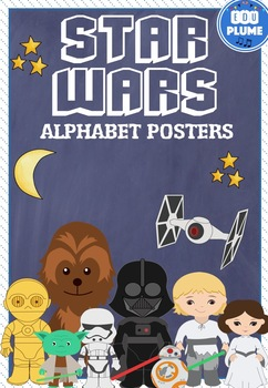 STAR WARS THEMED ALPHABET POSTERS
