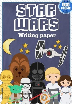 STAR WARS THEMED WRITING PAPER
