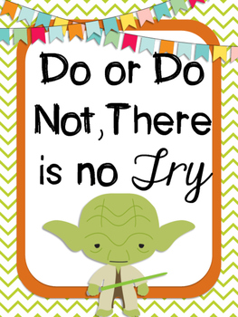 STAR WARS Themed Classroom Posters