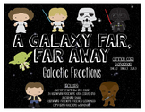 STAR WARS Themed Galactic Fractions Task Cards and Anchor Charts