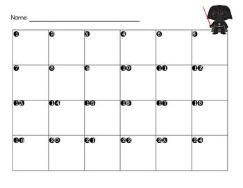 STAR WARS Themed Sentence Type Identification Task Cards