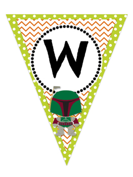 STAR WARS! Welcome Jedis Banner- Class Decor *Updated
