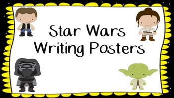 STAR WARS Wrting Posters