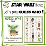 """STAR WARS - themed """"Guess Who"""" - Game"""