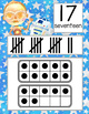 STAR WARz - Number Line Banner, 0 to 20, Illustrated, ten frames, tally marks
