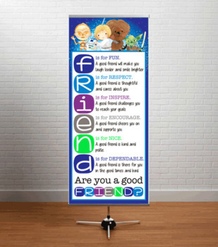 STAR WARz theme Classroom Decor: LARGE BANNER, FRIEND