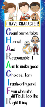 STAR WARz theme - Classroom Decor: LARGE BANNER, I have character