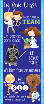 STAR WARz theme - Classroom Decor: LARGE BANNER, In Our Class