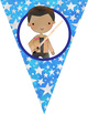 STAR WARz theme - Classroom Decor, Triangle Banners, EDITABLE, PowerPoint