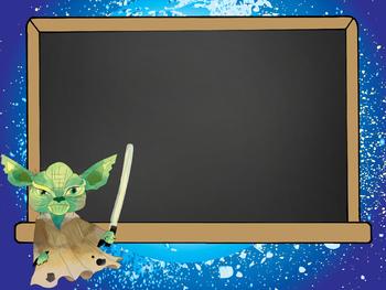 STAR WARz theme - PowerPoint, Open House, Curriculum Night, Meet the Teacher
