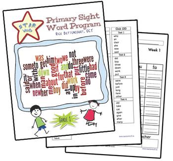 STAR Words sight word program (Gr. 1)