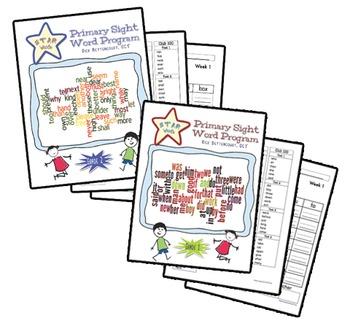 STAR Words sight word program (Gr. 1 & 2)
