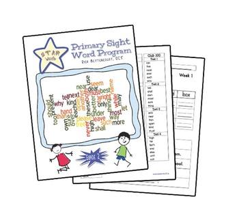 STAR Words sight word program (Gr. 2)