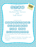 STAR plus BEHAVIOR -- a classroom management system students respond to
