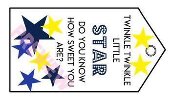 STAR appreciation tags - Teacher/Para/Aide/Bus Driver/Admin/Staff Thank You Gift