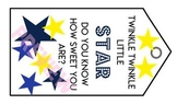 STAR appreciation tags - Teacher/Para/Aide/Bus Driver/Admi