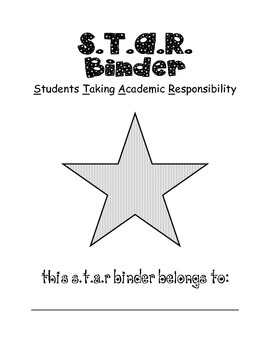 STAR binder coverpage