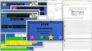 STAR paragraphs and SUPER Hero Sentences BUNDLE!!!