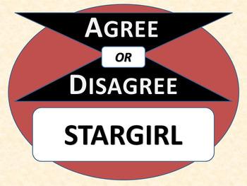 STARGIRL - Agree or Disagree Pre-reading Activity