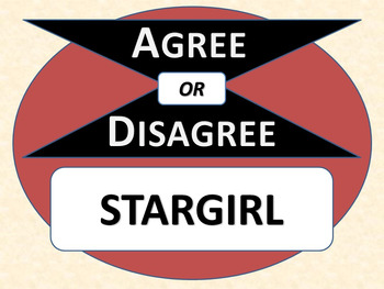 STARGIRL - Agree or Disagree Pre-reading Activity