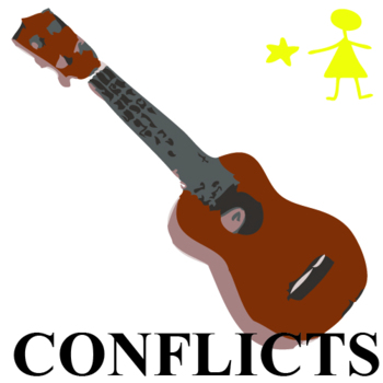 STARGIRL Conflict Graphic Organizer - 6 Types of Conflict