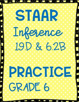 STARR Grade Six Review Inference and Vocabulary