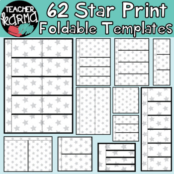 STARS: 62 Foldables, Interactives, Flip Book Templates