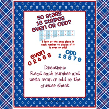 STARS and STRIPES {Five Scoot Games for Math}