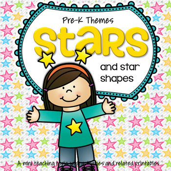 STARS Theme Centers and Activities for Preschool and Pre-K
