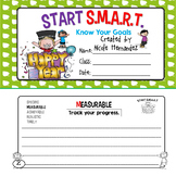 START SMART - A Goal Setting Writing Activity Mini Book for Kids