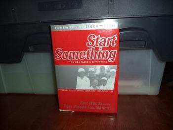 START SOMETHING    TIGER WOODS   ISBN 0-7432-1593-1