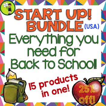 START UP! Back to School Bundle - Everything You Need For Back To School! USA