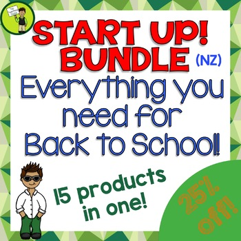 START UP! Back to School Bundle - Everything You Need For