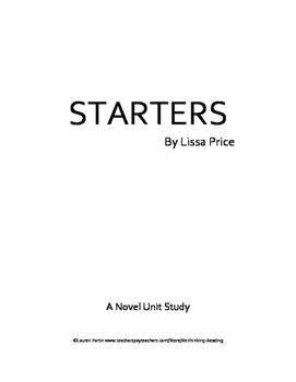 STARTERS Novel Study Unit