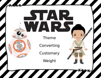 STARWARS Theme Converting Customary Weight