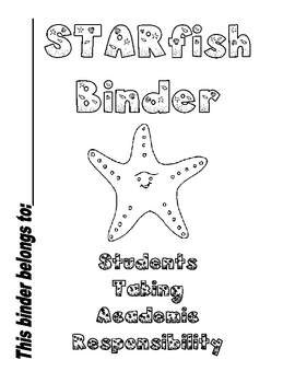 STARfish binder Slip Cover and Rules