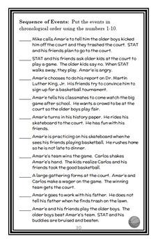 STAT Home Court (Amar'e Stoudemire) Novel Study / Reading Comprehension
