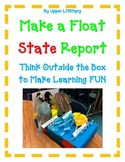 STATE REPORT- Make a FLOAT State Report - Fun Easy Directi