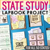 STATE RESEARCH PROJECT Lapbook   American History   Social