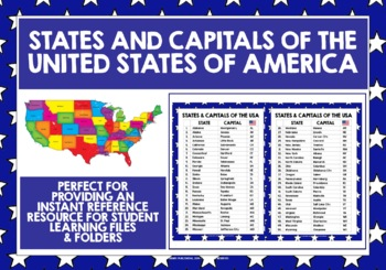 States Of America Alphabetical Order on
