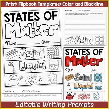 STATES OF MATTER {A FLIPBOOK}