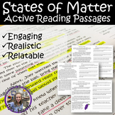 STATES OF MATTER Active Reading Passages
