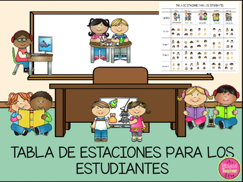 STATION CHARTS IN SPANISH
