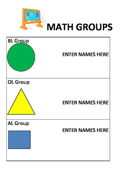 STATION TEACHING GROUPS
