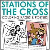 STATIONS OF THE CROSS Posters and Mini Book   Holy Week   Easter   Good Friday