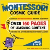 Cosmic Guide: Elementary Montessori Materials & Lessons Workbook
