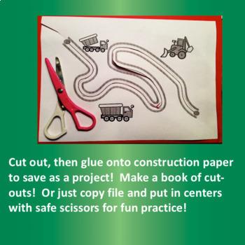 Scissors Skills for Cutting Practice