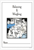 STC Balancing and Weighing Interactive Notebook Pages - Grades 1-3